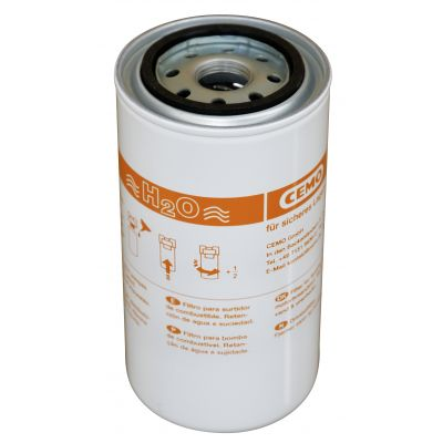 Catridge filter with water separator, max. 70 l/min