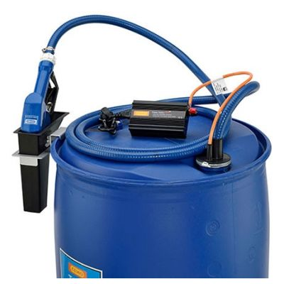 Submersible pump CENTRI SP 30, 12 V for AdBlue®, diesel, water and antifreeze fluid, set with power pack, hose, automatic dispensing nozzle