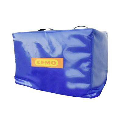 Blue insulating and protective cover for Blue-Mobil Easy 125/200 L