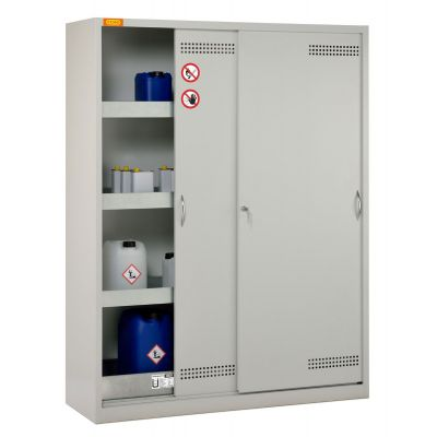 Environmental/HazMat cabinets with sliding doors or fully extending drawers