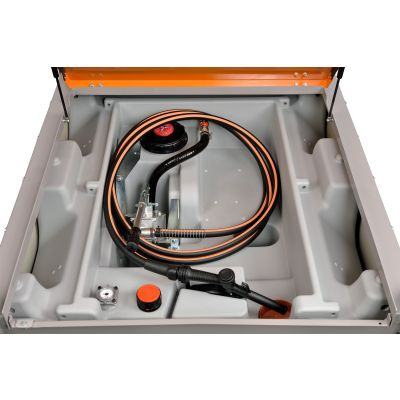 DT-Mobile PRO PE diesel tank without pump resp. with hand pump