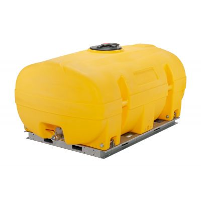 PE tank trunk-shaped with  baffles
