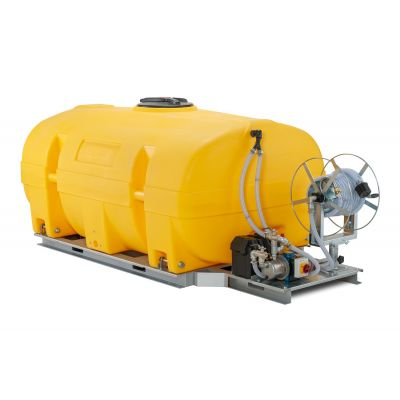 Mobile irrigation system 130-PE with electric pump