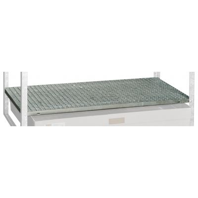Steel grating for drum racks type 360 and 540