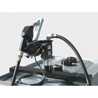 Pump console
