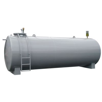 Steel tank without accessories