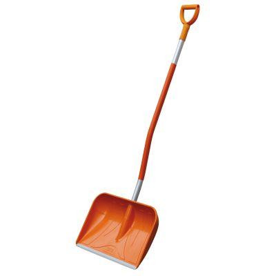 GRP snow shovel with D handle