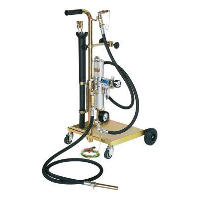 Mobile suction unit for fuels