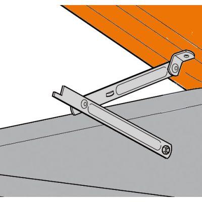 Scissors opening mechanism