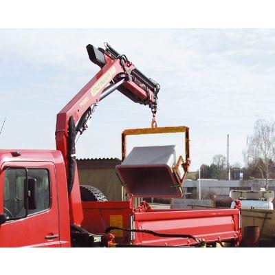 Loading frame, hydraulic, tilting