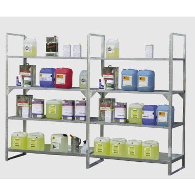 Expansion rack for environmental/HazMat rack 13/20