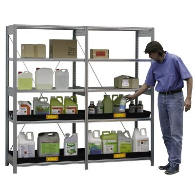 Expansion rack for environmental/HazMat rack 10/20