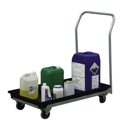 PE collection tray 30 l - mobile