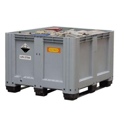 Battery disposal box 610 l