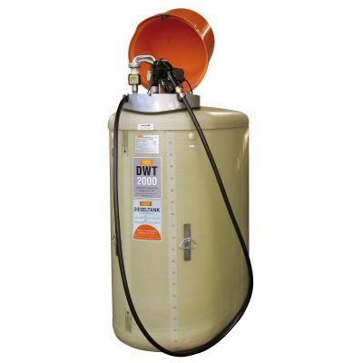 DWT complete stations 50 l/min - pump without protective housing