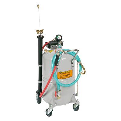 Mobile oil suction units, pneumatic