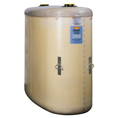 PROFI tank for fresh and waste oil, double-walled