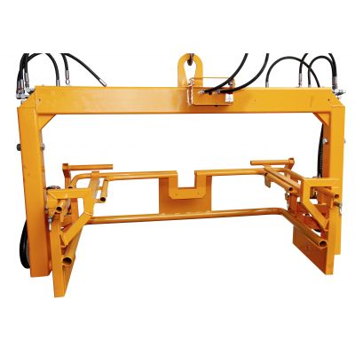 Auxiliary frame for loading frame