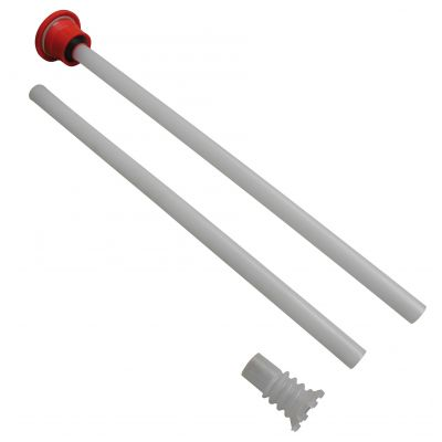 2-piece suction pipe