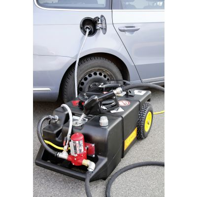 Electric extraction and refuelling trolley 95 l
